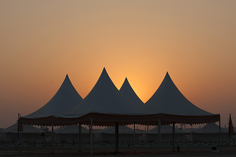 Sunrise at Rann Utsav
