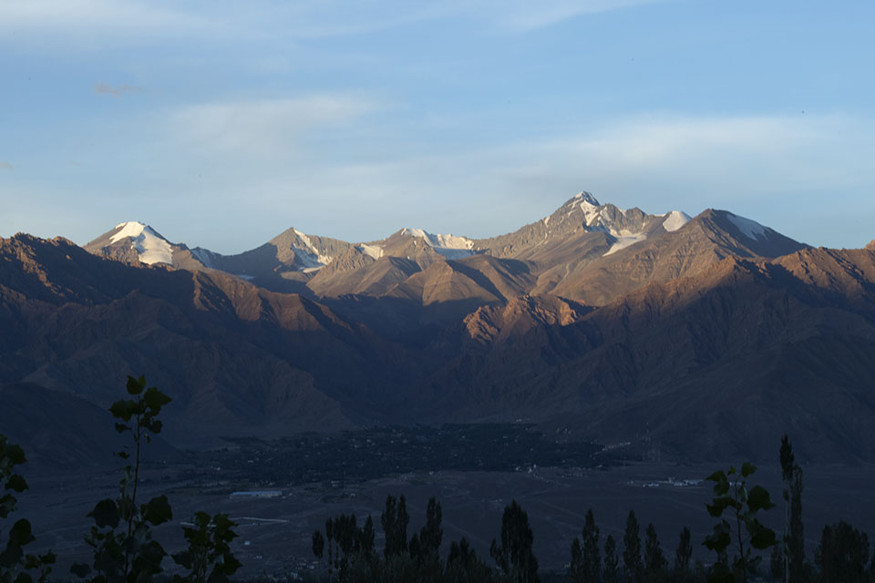 Moods of Stok Kangri in Ladakh